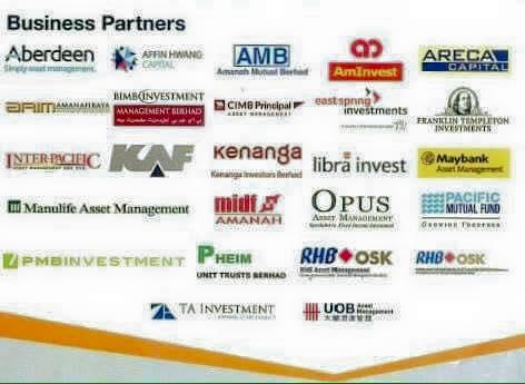 Pelaburan Unit Trust / Saham Amanah Di Malaysia