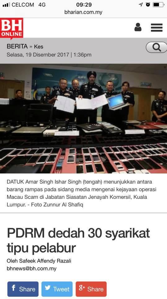 Dengan Rasminya ARBA / Kopi Pak Belalang / CWC Sudah Tersontot