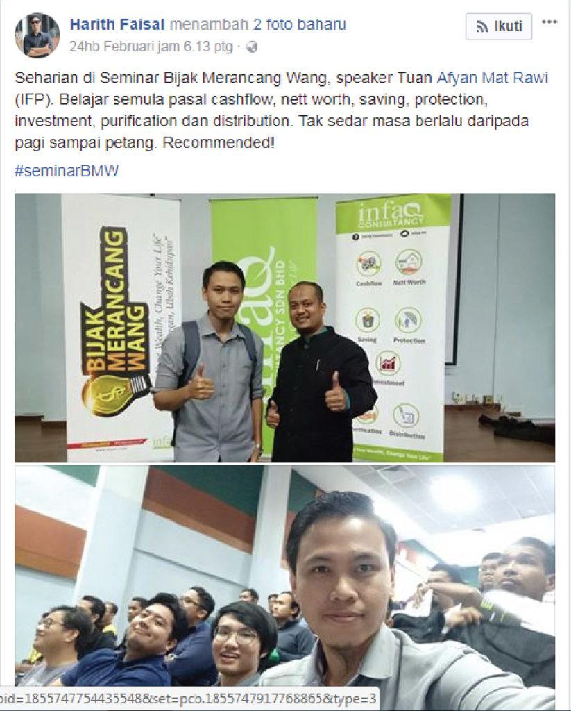 perkongsian #Seminarbmw KL-03